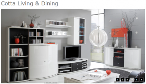 Cotta Living & Dining 4 Witte