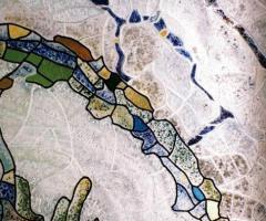 Vitralii / geamuri de sticla colorata si mozaic