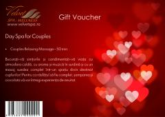 Gift Voucher- Day Spa for Couples