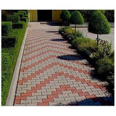 Paving tiles retro
