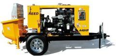 Pompa beton Waitzinger-Reed A40 remorcabilaPompa beton Waitzinger-Reed A40 remorcabila