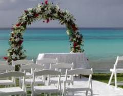 Arcade din flori pentru nunta