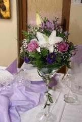 Aranjamente flori pentru nunta