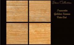 Golden Sienna Vein Cut