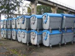 Containere gunoi 1100l metalice