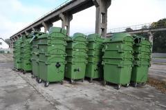 Containere de gunoi 660l, 770l, 1100l