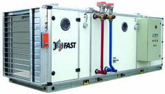 Centrala de ventilare pentru medii sterile FM-H