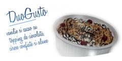 DUO GUSTO - 1500 ml Vanilie cu cacao, ciocolata si fructe confiate