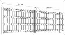 Panouri de gard zincate H1.03