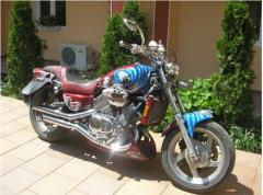 Motorcycles of dual purpose