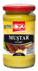 Mustar Clasic 280g