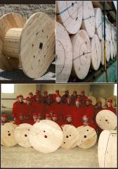Bobine și tamburi din lemn