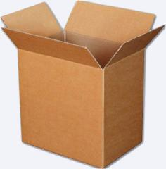 Simple corrugated boxes