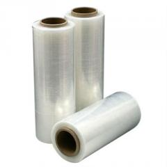 Stretch film for manual packaging