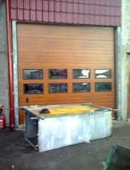 Metal garage gates