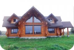 Casa din busteni 200 m2