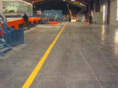 Concrete floors, industrial