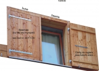 Sistem de feronerie pentru obloane verticale 1028-00