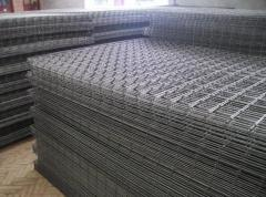 Welded nets for concrete reinforcement