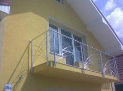 Balustrade decorative din inox