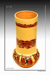 Articole ceramice lucrate de mana