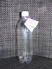 Sticla plastic pentru nunta - model cilindric -