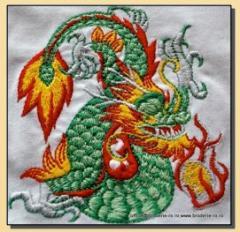 Broderii diverse- broderie Dragon