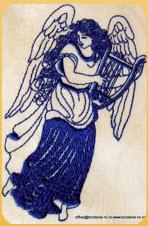 Emblema brodata / Inger