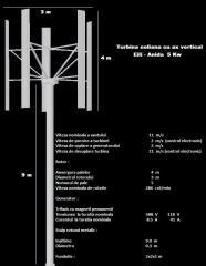 Turbina eoliana Eili Anida 5 Kw