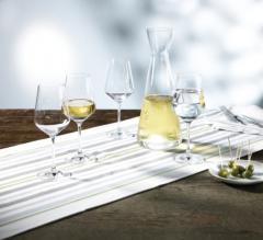 Set cadou Harmony pentru vin alb, 4 pahare si o