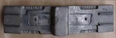 Brake pads, brake-shoe lining