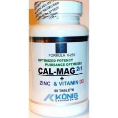 Supliment alimentar Potenta Optima Calciu, Magneziu, Zinc