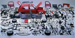 Spare parts for passenger automobiles