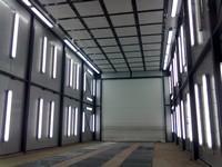 Cabina vopsire-uscare industriala cu flux vertical