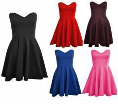 Rochie dama culori:negru,rosu,pruna,albastru,roz