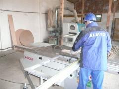 Linii de productie a lazilor din lemn