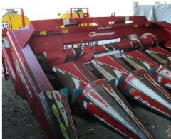 Harvesteri, echipamente de recoltare