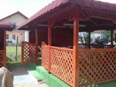 Balcoane si terase din lemn