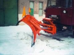 Blades for snow removal