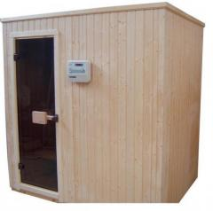 Cabina sauna uscata