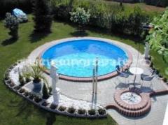 Piscina rotunda Hobby Pool Milano