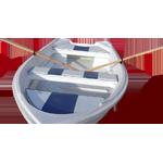 Barca cu vasle