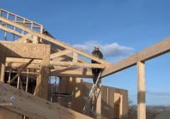 Montaj case lemn