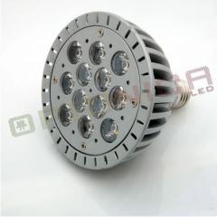 12W Lampa LED PAR38 E27 lumina alba calda