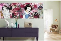 Painted wall coverings