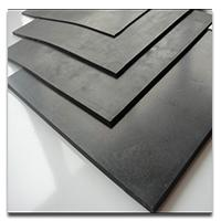 Plates rubber for sieves