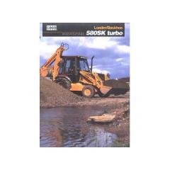 Piese motor buldoexcavator Case 580