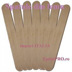 Spatule lemn pentru epilat la set de 100buc