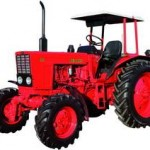 Tractors with wheels for farming