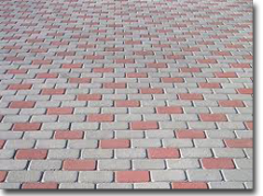 Paving sone slabs
